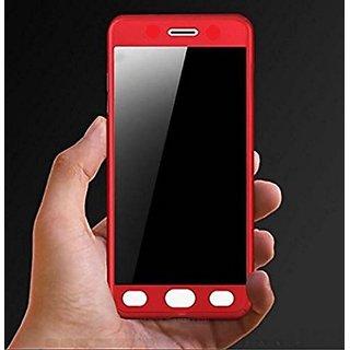 hot sale online 5e44e 88aa8 Vivo V7 Plus 360 Degree Full Body Cover Color Red By Brand Fusan