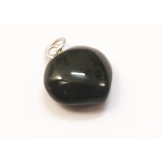 ReBuy Heart Pendant Black Tourmaline Gemstone Pendant
