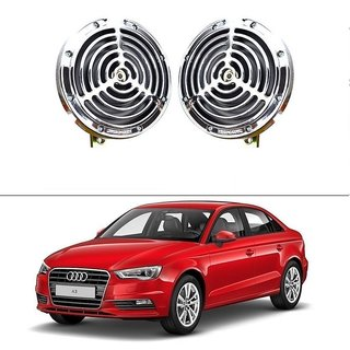 AutoStark Bike And Car Bride Super Sonix Grill Horn 12V Set Of 2 For Audi A3