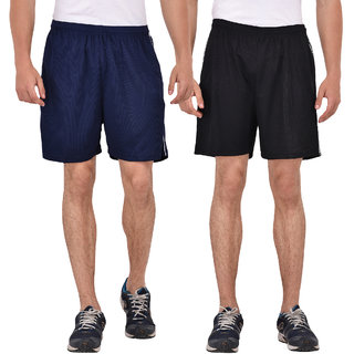 Pack of 2 Fashion 7 Multicolor Knee Length Shorts For Men