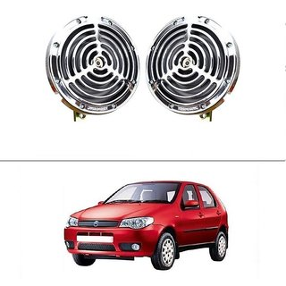 AutoStark Bike And Car Bride Super Sonix Grill Horn 12V Set Of 2 For Fiat Palio Stile