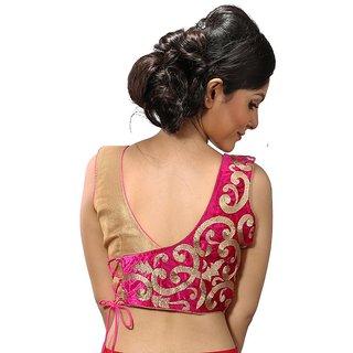 1240e23796502 Buy Intrigue Multicolor Velvet Stitched Blouse Online - Get 22% Off