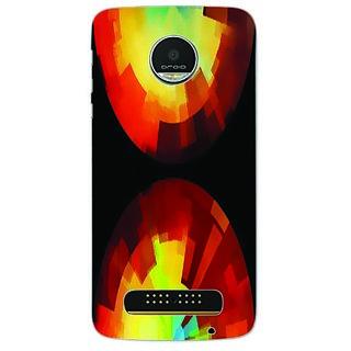 Printgasm Motorola Moto Z Play printed back hard cover/case,  Matte finish, premium 3D printed, designer case