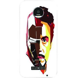 Printgasm Motorola Moto Z printed back hard cover/case,  Matte finish, premium 3D printed, designer case