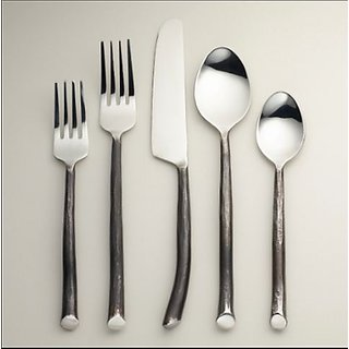 The Besteck Brass Cutlery Set of 5 Pieces