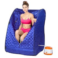 Home Family Portable Steam Sauna Bath  for Weight Loss Helathcare (Assorted Colors)