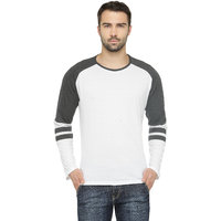 Teesort Men's Full Sleeve Round Neck Solid T-shirt