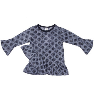 Pikaboo Frills and Twirls Top for Girls (3-4 Years)