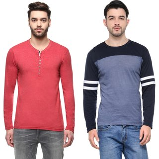 Teesort Pack of 2 Equisite T-shirts