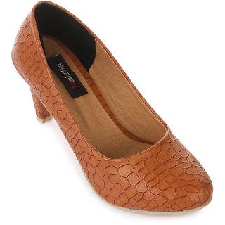 Naisha Women Tan Heels