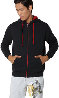 aarmy fit black poly mens jacket