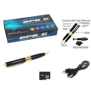 Spy Pen Camera HD with 8 GB Memory Card