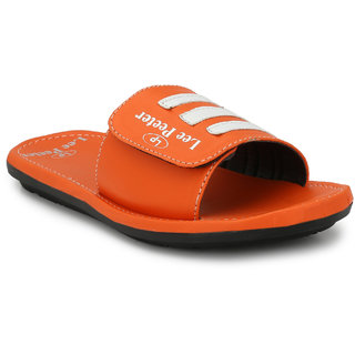 Lee Peeter Men's Orange Slippers