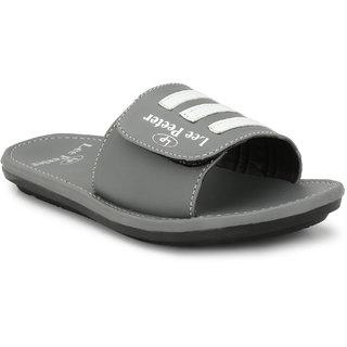 Lee Peeter Men's Grey Slippers