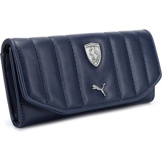 Puma Blue Clutch Wallet For Women