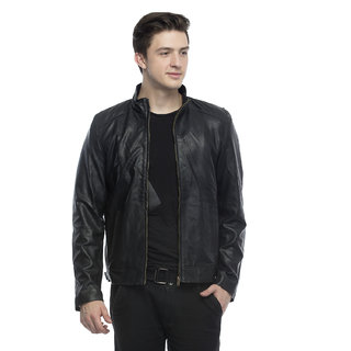 Lambency Men's Black Jacket