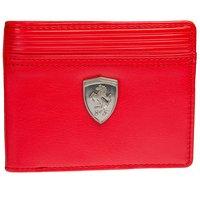 Puma Men Red Genuine Leather Wallet