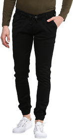 Urbano Fashion Men's Slim Fit Black Jeans