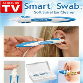 Smart Swab Removal Tool Soft Spiral Cleaner (New Ear Wax Vac)