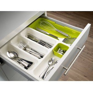 Bon Drawer Organizer Tray  Expandable Cutlery Tray, Uses  Kitchen Drawer,  Office, Workshop