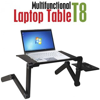 Portable Table Laptop Table Portable Bed Tray Book Stand T8