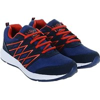 LANCER MEN NAVY BLUE RED COLOR COMFORTABLE RUNNING/ SPO