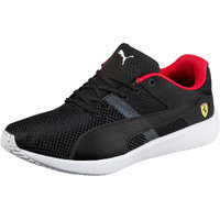 Puma Men's SF F117 Black-Black-White Casual Shoes