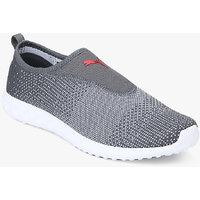 Puma Men's Carson 2 Slip-On QUIET SHADE-White- Sneakers