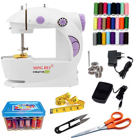 CreativeVia 29 In 1  Portable And Compact 4 In 1 Mini Electric Sewing Machine