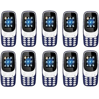Ikall K3310  1.8 InchDual Sim Bis Certified Made In IndiaBattery Saver (No Earphones) (Minimum 10)