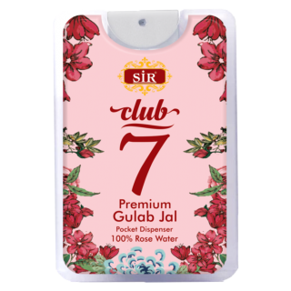 SIR Club 7 Premium Gulab Jal 18 ml (Pack Of 2)