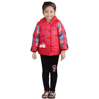 Crazeis Girls Full Sleeve Jacket
