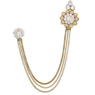 016daf0e5f3 Buy The Luxor Austrian Diamond And Stone Round Shape Designer Alloy ...