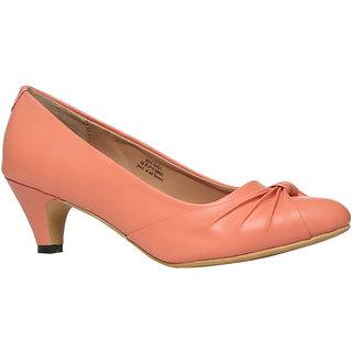 Footin Women Pink Heels