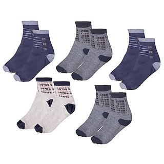 Sports Ankle Socks Pack of 5