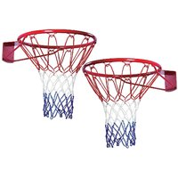 Queen Sports Industries Queen Sports Basket Ball Net Premium quality Nylon Standard Size for Sports Training Practice an