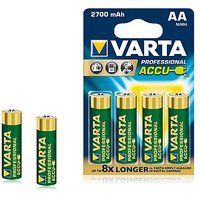 VARTA Professional Accue 4 AA Size Ni-MH 2700 MAh Rechargeable Batteries