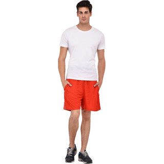 Red Shorts for Men's by Fashion 7