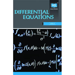MTE8 Differential Equations (IGNOU Help book for MTE-8  in English Medium)