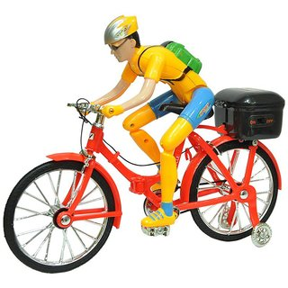 Cycle With Man Paddle Move