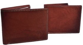 Creative Edge Maroon Leather Wallet Combo Pack