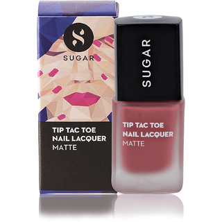 SUGAR Tip Tac Toe Nail Lacquer - 036 Holly Golightly (Matte Nude)