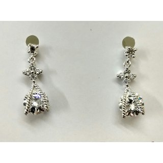Gahane Small CZ studded Ear Tops With Guaranteed Gold Polished