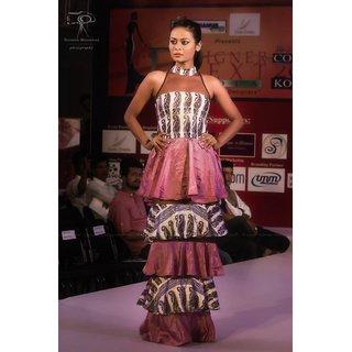 Lopa Multicolor Printed Maxi Dress Dress For Women