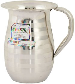 M M Marketing Stainless Steel Jug, , 2 Liter, Silver Touch
