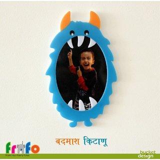 Frafo Acrylic Badmash Kitanu Multicolor Wall Frames No of Pc 1