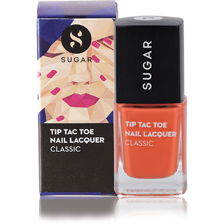 SUGAR Tip Tac Toe Nail Lacquer - 029 Fuel The Fire (Bright Orange)