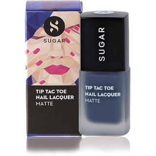 SUGAR Tip Tac Toe Nail Lacquer - 026 Beat The Blues (Matte Dusty Blue)