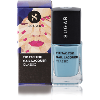 SUGAR Tip Tac Toe Nail Lacquer - 024 Birds Eye Blue (Pastel Blue)