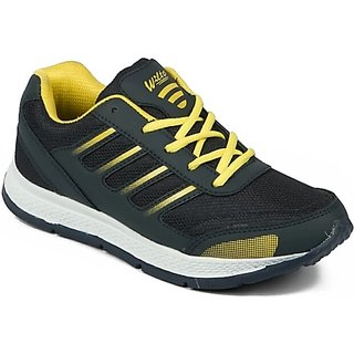 bfe168317 Buy ASIAN MEN COMFORTABLE NAVY  YELLOW COLOR Training SHOES (13) Online -  Get 10% Off